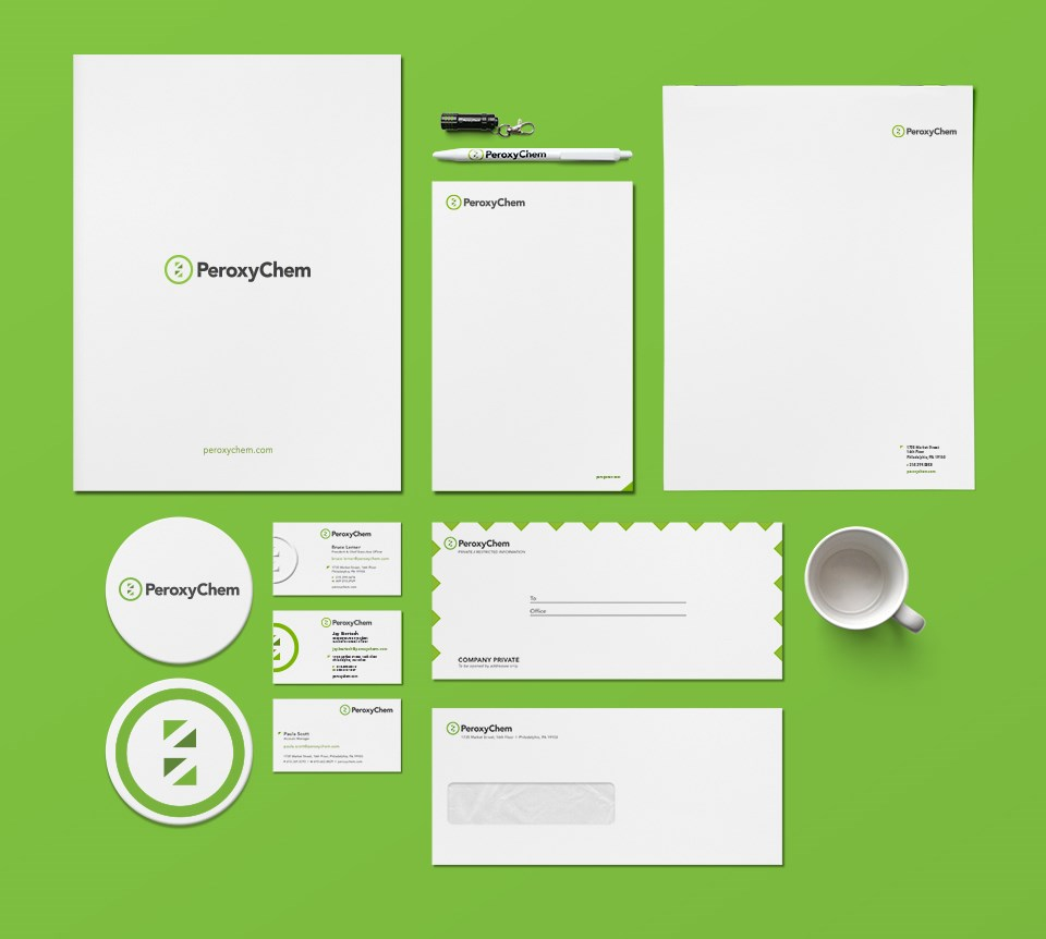 PeroxyChem stationery