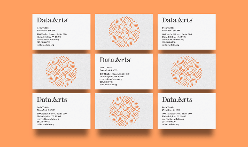 DataArts business cards