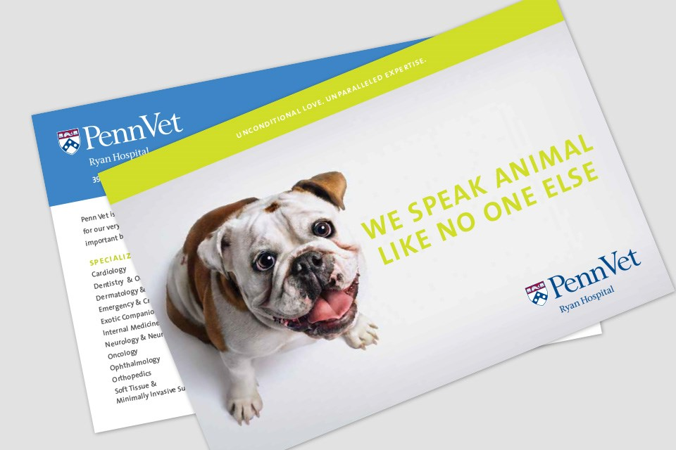University of Pennsylvania Vet Direct Mailer
